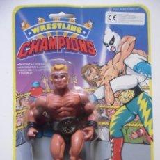 Figuras y Muñecos Pressing Catch: WRESTLING CHAMPIONS MOTU WWF GALAXY WARRIORS BOOTLEG KO FIGURA EN BLISTER. Lote 113152447