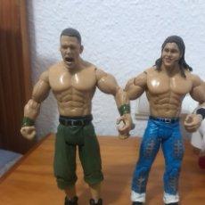 Figuras y Muñecos Pressing Catch: DOS FIGURAS LUCHADORES PRESSING CATCH WWE 2003. Lote 114835516