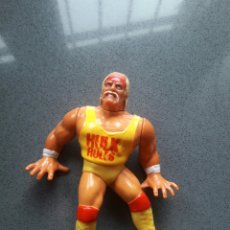 Figuras y Muñecos Pressing Catch: JUGUETE FIGURA 1990 WWF CATCH HULK HOGAN RULES TITAN SPORTS. Lote 115295343