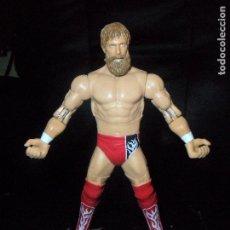 Figuras y Muñecos Pressing Catch: DANIEL BRYAN - WWE - MATTEL - PRESSING CATCH - ELITE, MOVIENTO DE ACCION. Lote 118002895