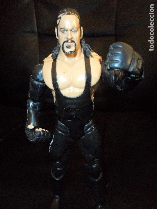 EL ENTERRADOR - UNDERTAKER 2004 - PRESSING CATCH - WWE WWF JAKKS (Juguetes - Figuras de Acción - Pressing Catch)