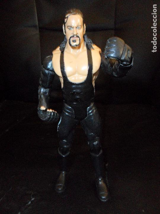 Figuras y Muñecos Pressing Catch: EL ENTERRADOR - UNDERTAKER 2004 - PRESSING CATCH - WWE WWF JAKKS - Foto 2 - 121139599