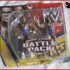 Figuras y Muñecos Pressing Catch: CI2 10 MATTEL 2013 - WWE PRESSING CATCH WWF - BATTLE PACK - JASON JORDAN CHAD GABLE. Lote 153010681