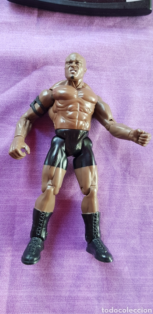 FIGURA PVC WWF BOBBY LASHEY LUCHA LIBRE 17CM (Juguetes - Figuras de Acción - Pressing Catch)