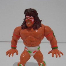 Figures and Dolls Pressing Catch - FIGURA WWF HASBRO, LUCHA LIBRE, PRESSING CATCH, ULTIMO GUERRERO, ULTIMATE WARRIOR SERIE 2 - 129973243