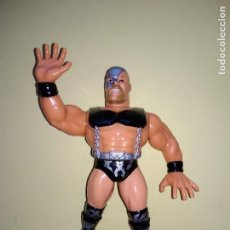 Figuras y Muñecos Pressing Catch: OFFICIAL WWF HASBRO PRESSING CATCH - WARLORD (SERIE 5) (1993). Lote 130360506