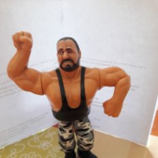 Figuras y Muñecos Pressing Catch: FIGURA WWF PRESSING CATCH - LUKE SACAMANTECAS ( HASBRO ). Lote 131974022