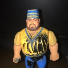 Figuras y Muñecos Pressing Catch: ANTIGUA FIGURA PRESSING CATCH WWF HAKIM TITAN SPORTS 1990. Lote 133620714