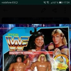 Figuras y Muñecos Pressing Catch: MUÑECOS WWF PRESSING CATCH . Lote 134040282