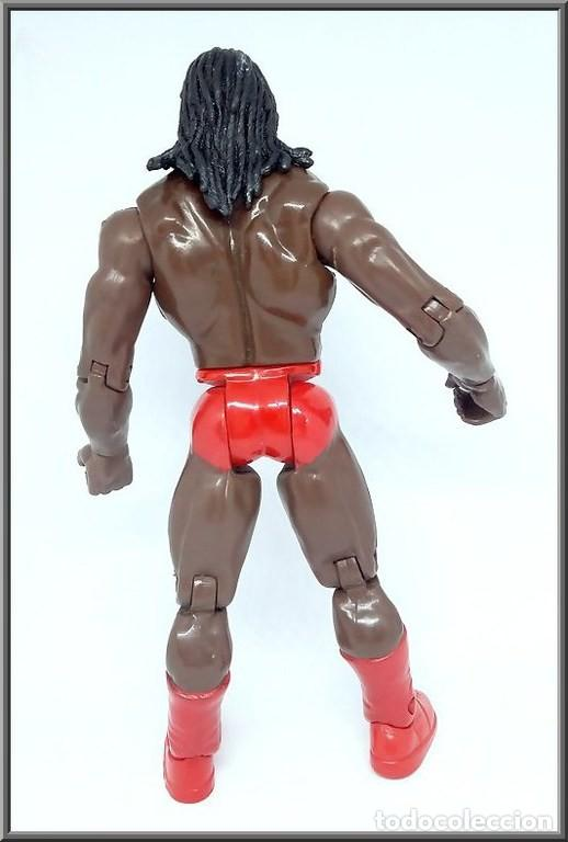 Figuras y Muñecos Pressing Catch: JAKKS PACIFIC 1999 WRESTLING PRESSING CATCH WWE WWF BOOKER T - Foto 4 - 137210242
