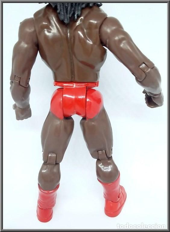 Figuras y Muñecos Pressing Catch: JAKKS PACIFIC 1999 WRESTLING PRESSING CATCH WWE WWF BOOKER T - Foto 6 - 137210242