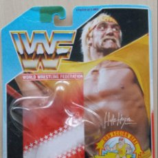 Figuras y Muñecos Pressing Catch: BLISTER VACIO HULK HOGAN WWF PRESSING CATCH 1990 . Lote 142976642