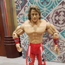Figuras y Muñecos Pressing Catch: FIGURA PRESSING CATCH LUCHA LIBRE WWE BK. Lote 143050318