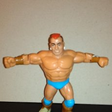 Figuras y Muñecos Pressing Catch: OFFICIAL WWF HASBRO PRESSING CATCH - TATANKA (B) (SERIE 6) (1993). Lote 145427130