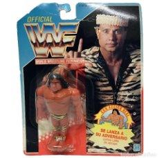 Figuras y Muñecos Pressing Catch: MB HASBRO WWF JIMMY SNUKA SUPERMOSCA. VINTAGE AÑO 1.991. NUEVO, SIN USO.. Lote 147166702