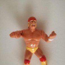Figuras y Muñecos Pressing Catch: FIGURA HULK HOGAN 5 WWF PRESSING CATCH HASBRO WWE. Lote 147932246
