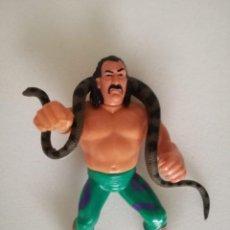 Figuras y Muñecos Pressing Catch: FIGURA EL SERPIENTE WWF PRESSING CATCH HASBRO WWE. Lote 147932678