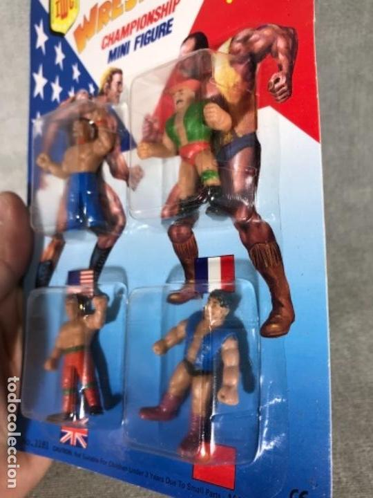Figuras y Muñecos Pressing Catch: Antiguo blister muñecos wrestling - pressing catch - Sin abrir - Foto 2 - 161273305
