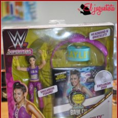 Figuras y Muñecos Pressing Catch: PRESSING CATCH WRESTLING WWF WWE - MATTEL - BAYLEY ULTIMATE FAN PACK. Lote 155591206