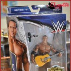 Figuras y Muñecos Pressing Catch: PRESSING CATCH WRESTLING WWF WWE - MATTEL ELITE 2014 31 - THE ROCK. Lote 155592242
