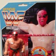 Figuras y Muñecos Pressing Catch: BLISTER KATO CUSTOM WWF HASBRO PRESSING CATCH WWE. Lote 156694946