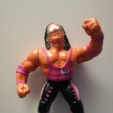 Figuras y Muñecos Pressing Catch: BRET HITMAN HART WWF PRESSING CATCH HASBRO WWE. Lote 156743038