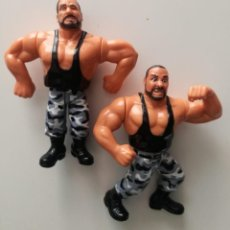Figuras y Muñecos Pressing Catch: SACAMANTECAS WWF HASBRO PRESSING CATCH WWE. Lote 156746298