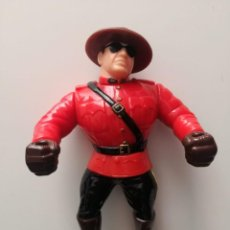 Figuras y Muñecos Pressing Catch: MOUNTIE WWF PRESSING CATCH HASBRO. Lote 207272053