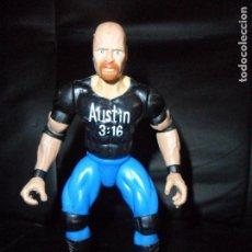 Figuras y Muñecos Pressing Catch: STEVE AUSTIN, STONE COLD - PRESSING CATCH - WWF WWE - JAKKS 1997-. Lote 159329450