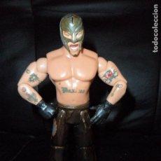 Figuras y Muñecos Pressing Catch: REY MYSTERIO - FIGURA PRESSING CATCH - WWF WWE - JAKKS -. Lote 159606162