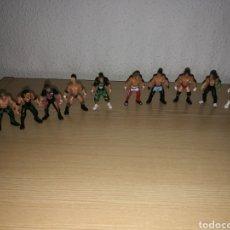 Figuras y Muñecos Pressing Catch: COLECCIÓN DE 10 MINI FIGURAS DE PRESSING CATCH. LUCHA LIBRE. MIDEN 5 CENTÍMETROS. JARKS. WWE. 2006. Lote 159871996