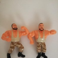Figuras y Muñecos Pressing Catch: SACAMANTECAS SERIE 10 WWF PRESSING CATCH HASBRO WWE. Lote 160512046