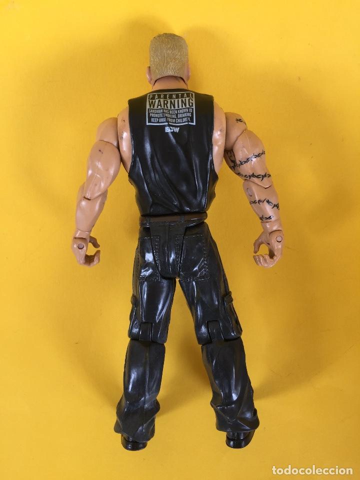 Figuras y Muñecos Pressing Catch: FIGURAS LUCHA LIBRE WWE 01 - SANDMAN_LEY727 - Foto 2 - 161290094