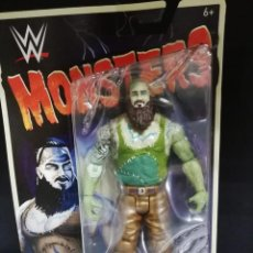 Figuras y Muñecos Pressing Catch: FIGURA WWE MONSTERS BRAUN STROWMAN. Lote 163410262