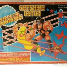 Figuras y Muñecos Pressing Catch: RING CATCHING CATCH FALOMIR JUEGOS 1990 JUFASA + DOS LUCHADORES PRESSING CATCH, WWF, WEELED WARRIORS. Lote 166408302