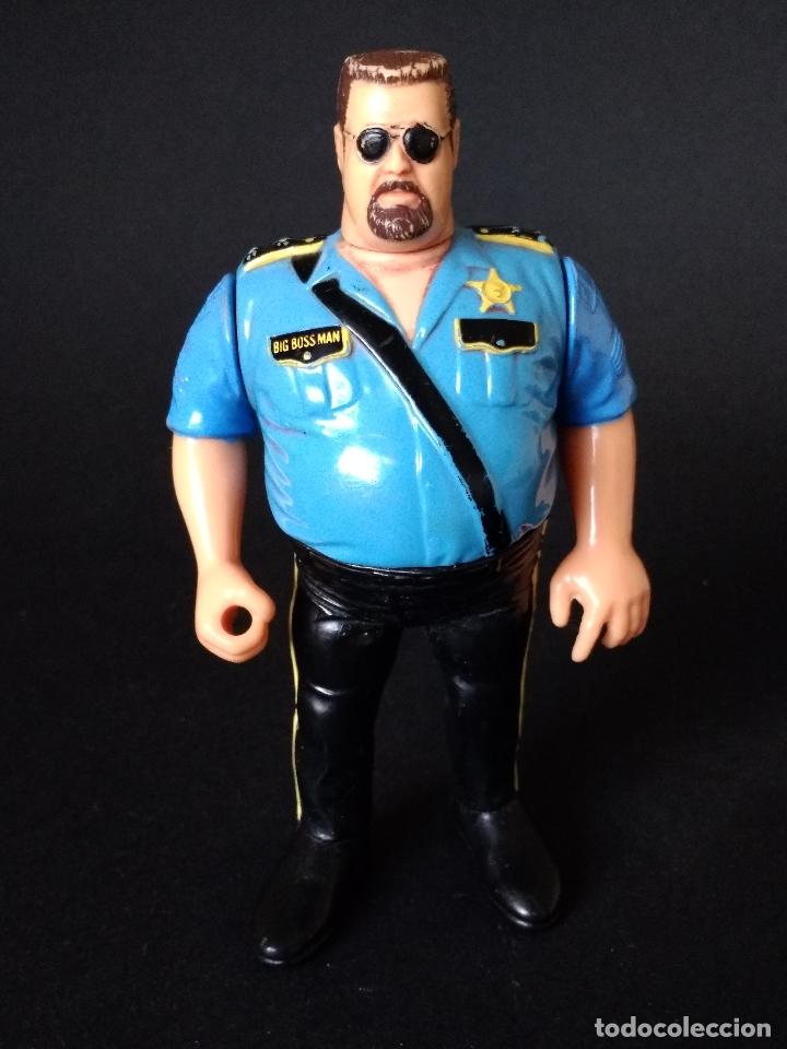 Wwf Hasbro Big Boss Man Poli Loco Serie 1 1 Sold