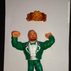 Figuras y Muñecos Pressing Catch: OFFICIAL WWF HASBRO - MILLION DOLLAR MAN V2 (SERIE 2, 1991), COMPLETO. Lote 167628964
