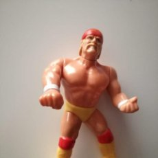 Figuras e Bonecos Pressing Catch: HULK HOGAN SERIE 5 WWF PRESSING CATCH HASBRO WWE. Lote 169702160
