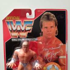 Figuras y Muñecos Pressing Catch: BLISTER LEX LUGER WWF HASBRO WWF SERIES 8 PRESSING CATCH WWE. Lote 171051038