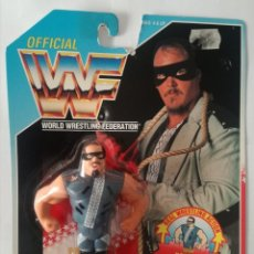 Figuras y Muñecos Pressing Catch: BLISTER REPO MAN WWF HASBRO WWF PRESSING CATCH. Lote 172426172