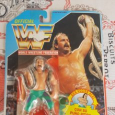 Figuras y Muñecos Pressing Catch: WWF SNAKE EL SERPIENTE VERSION 1 HASBRO 1990. Lote 174107899