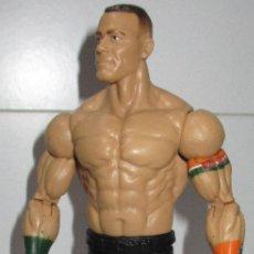 Figuras y Muñecos Pressing Catch: JOHN CENA FIGURA PRESSING CATCH LUCHA LIBRE WWE, MATTEL 2013. Lote 174341869