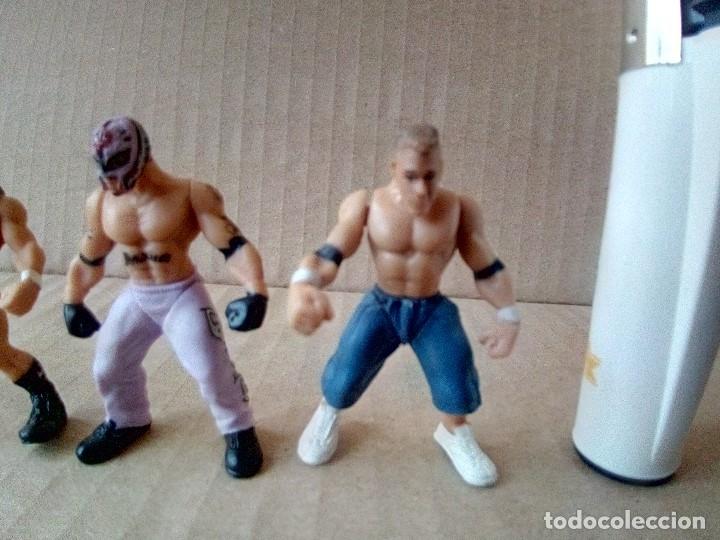 Figuras y Muñecos Pressing Catch: LOTE DE 8 MINI FIGURA WWE 2006 - Foto 11 - 176127285