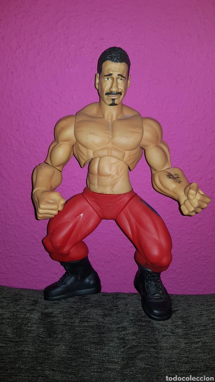 Figuras y Muñecos Pressing Catch: Antigua figura de lucha Jakks Pacific 2005 mide 35 cm - Foto 3 - 176676707
