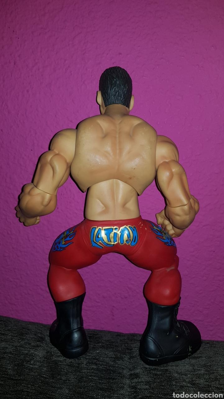 Figuras y Muñecos Pressing Catch: Antigua figura de lucha Jakks Pacific 2005 mide 35 cm - Foto 6 - 176676707