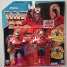 Figuras y Muñecos Pressing Catch: LEGION OF DOOM WWF HASBRO SERIE 4 PRESSING CATCH WWE. Lote 176868433