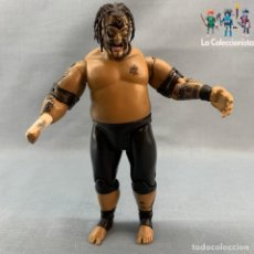 Figuras y Muñecos Pressing Catch: FIGURA LUCHADOR WWE UMAGA - JAKKS PACIFIC (2004) -17 CM. Lote 177606832