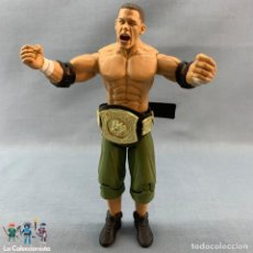 Figuras y Muñecos Pressing Catch: FIGURA LUCHADOR WWE JHON CENA - JAKKS PACIFIC (2003) . Lote 177608180