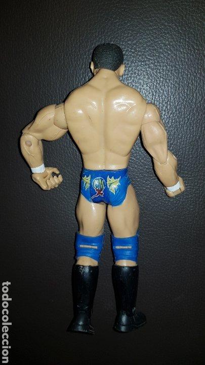 Figuras y Muñecos Pressing Catch: FIGURA DE ACCION PRESSING CATCH LUCHA LIBRE JAKKS PACIFIC 2004 WWE. - Foto 3 - 177685957