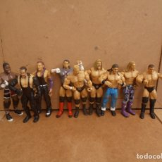 Figuras y Muñecos Pressing Catch: FIGURAS WWE - 9 JAKKS PACIFIC - PRESSING CATCH. Lote 166615298